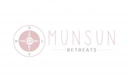 MunSun Retreats Logo Design