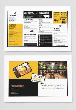 The Bansee Bar Menus
