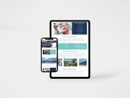 Kerry College - Graduate Internship Landing Page on Ipad & Iphone