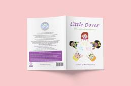 Littles Doves Workbook Cover mockup