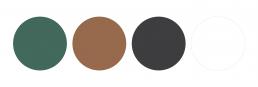 Glenomra Hemp Brand Colours
