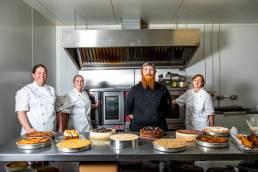 Ballyhar Foods Dessert Chefs in Kitchen