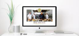 Imac showing Ballyhar Foods Dessert Chefs on screen