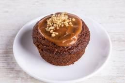 sticky toffee pudding dessert